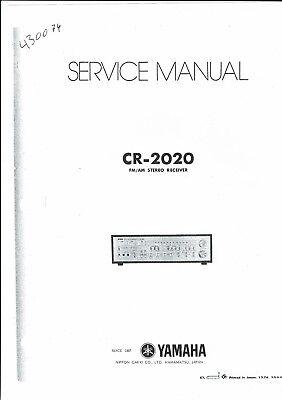 Yamaha Service Manual  für CR- 2020