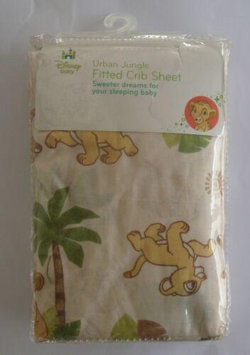 NEW Disney Baby Lion King Urban Jungle Fitted Crib Sheet Girl  Boy NIP