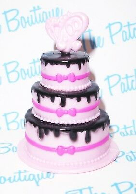 MONSTER HIGH SWEET 1600 DRACULAURA DOLL REPLACEMENT BIRTHDAY PARTY CAKE DIORAMA