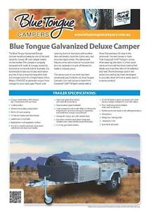Blue Tongue Campers Galvanized Deluxe Milperra Bankstown Area Preview