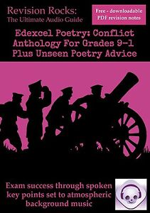 Edexcel GCSE Poetry: Conflict Anthology for Grades 9-1 Plus Unseen Poetry Advice