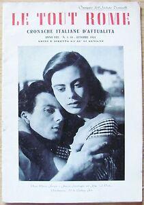 LE-TOUT-ROME-Cronache-Ital-d-039-Attualita-1953-Anna-Maria-Ferrero-e-Interlenghi