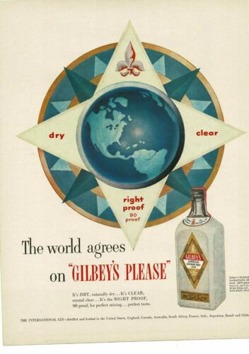 1952 GILBEY