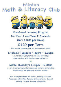 Fun-Based Learning Program for year 1 and year 2 Secret Harbour Rockingham Area Preview