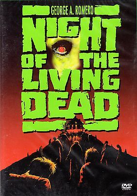 Night of the living Dead , 100% uncut , Region2 DVD , Tom Savini , NEW , - 1990 Halloween Movies