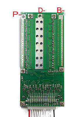 14S Cells 48V 50/100A Li-ion Lithium Battery Pack Protection PCB BMS Board