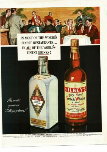 1950 GILBEY