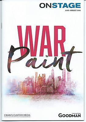 WAR PAINT Pre-Broadway Playbill + ad flyer Patti LuPone Christine Ebersole