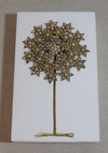 """New Pottery Barn Jeweled 11"""" Tree Topper Christmas Decoration Ornament"""