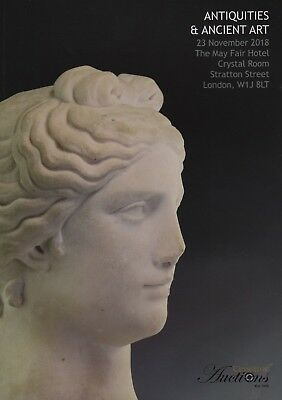 ANTIQUITIES and ANCIENT ART AUCTION CATALOGUE