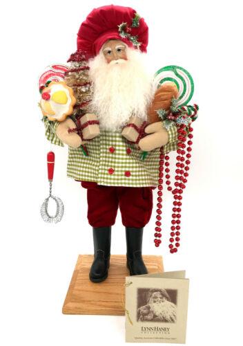 "Lynn Haney Chefs Surprise Santa 2007 Signed  #144165 Tag & Box 19"" Christmas"