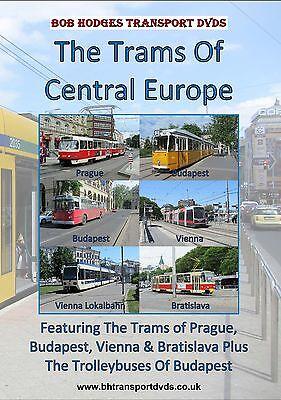 Trams Of Central Europe, Trams Of Vienna, Prague, Budapest & Bratislava DVD