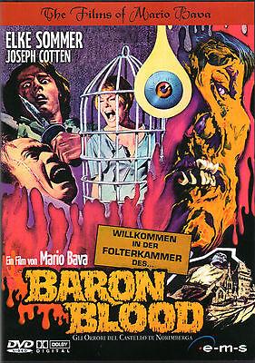 Baron Blood , 100% uncut , DVD Region2 , Mario Bava , Chambers of