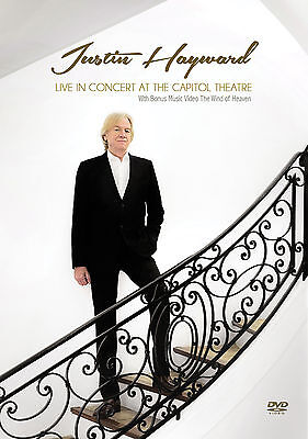 Justin Hayward Of Moody Blues New Sealed 2018 Live Concert   More Dvd