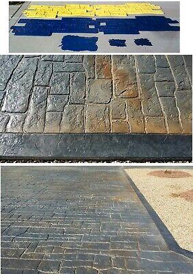 Random Cobblestone Concrete Stamp Set By Matcrete - 7 Pieces Big Size Used Once