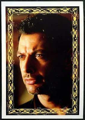 C1248 Jeff Goldblum 2//2 #21 Jurassic Park The Lost World 1997 Merlin Sticker