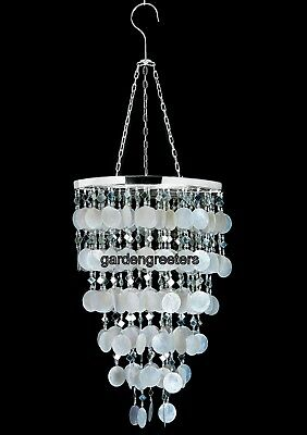 CAPIZ SHELL CHANDELIER NATURAL WHITE, CAPIZ SHELL CHANDELIER HANGING (Capiz Shell Chandeliers Hanging)