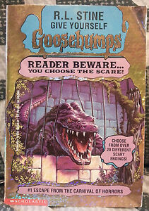 Goosebumps Reader Beware #1 Escape from Carnival of Horrors