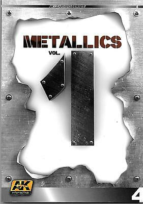 AK Interactive Learning Series 4, Metallics Vol. 1 Softcover Reference ST