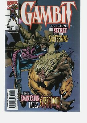 GAMBIT  VOL 3    8 VS SABRETOOTH     XMEN SERIES   MARVEL COMICS (Xmen Vol 3)