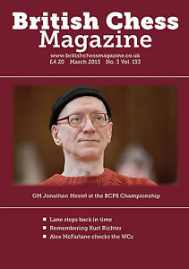 British Chess Magazine: March 2013, #3, volume 133