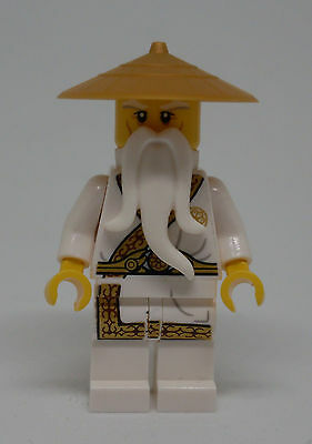 Lego Ninjago - Sensei Wu - Gold Trimmed (Secret World of the Ninja Book) Neu - The Gold Ninja