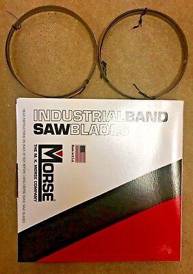 Mk Morse 64-12 X 12 Bandsaw Blades 10 Tpi Bimetal For Metalworking 2 Pack