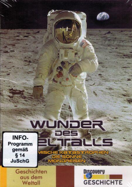 DVD - Wunder des Weltalls - Kosmische Katastrophen / Die Sonne / Mondreisen