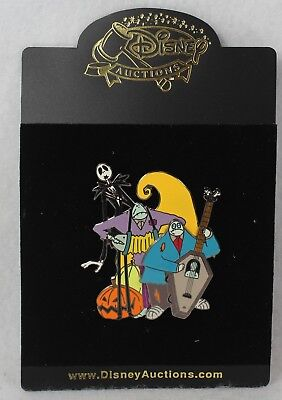 Disney Auctions LE Pin 100 Nightmare Before Christmas Jack Halloweentown Band](Halloween Town Theme Park)