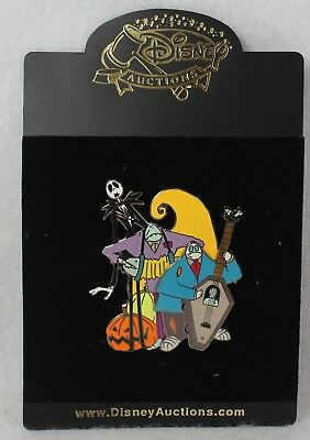 Disney Auctions LE Pin 100 Nightmare Before Christmas Jack Halloweentown Band - Halloween Town Theme Park