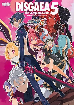 Brand New Disgaea 5 The Complete Guide Japanese Book from Japan