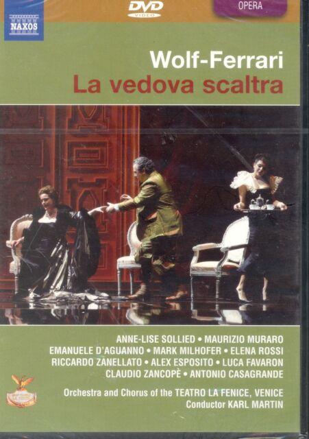 Wolf-Ferrari La Vedova Scaltra DVD NEW Teatro La Fenice Sollied Muraro