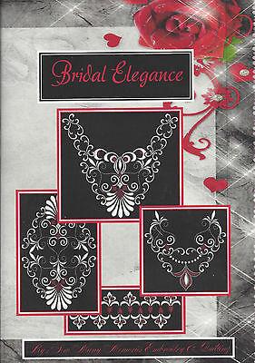 BRIDAL ELEGANCE EMBROIDERY COLL. FOR HUSQVARNA VIKING, PFAFF, BERNINA MORE NICE!