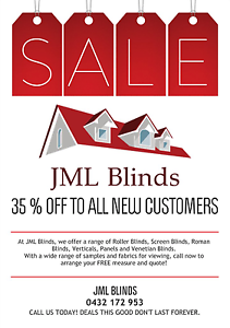 JML Blinds FREE Measure and Quote 35% off for a limited time only Mickleham Hume Area Preview