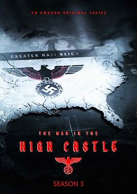 THE MAN IN THE HIGH CASTLE SEASON 3 - NEW 4 DISC SET WITH ALL 10 EPISODES