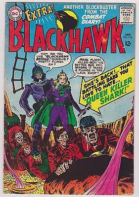 Blackhawk #216, Fine Condition.