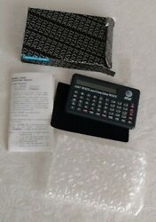 Lot 4 Rare AT&T 'Data Bank' Info Storage, Calculator, Clock, Alarm Boxes +1990s