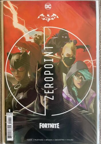 DC Batman Fortnite Zero Point #1 Mikel Janin Cover A / Sealed CODE in Polybag