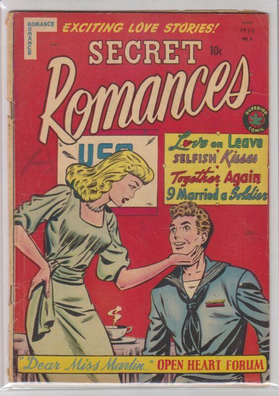 SECRET ROMANCES # 8