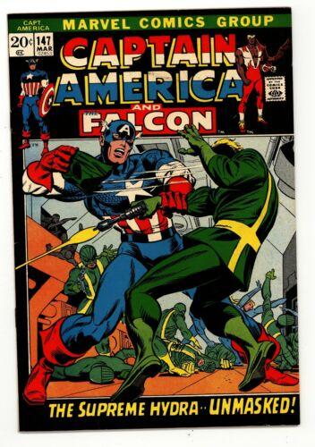 Captain America 147 VF Black Picture Frame