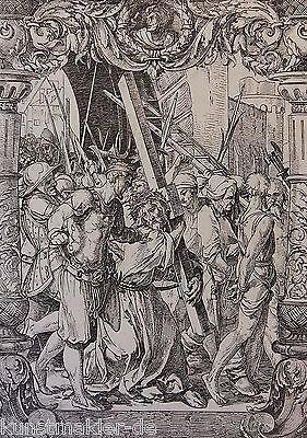 Hans HOLBEIN (1497-1543) Radierung Édouard Lièvre (1828-1886) La Passion 07/10