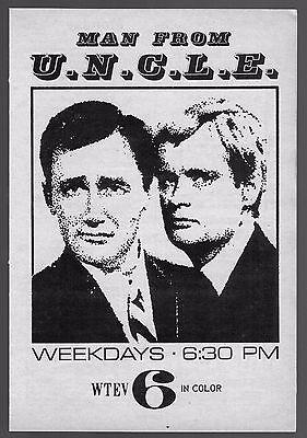 1969 WTEV TV AD~MAN FROM UNCLE~ROBERT VAUGHN~NEW BEDFORD,MASSACHUSETTS