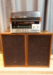Sansui SR 313, Stereo Receiver 771 & SP2700A speakers