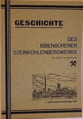 Buch H.Rickelmann: Geschichte des Ibbenbürener Steinkohlebergwerks