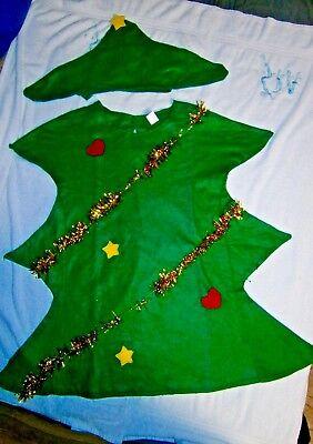 --Schickes  Weihnachtsbaum - Kostüm in Gr. 146 - 152  NEU (Baum Kostüm)