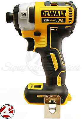 New Dewalt Dcf887 20V Max Lithium Ion 3 Speed Xr Brushless 1 4  Impact Driver
