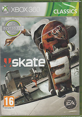 Xbox 360 Games - Skate 3 Xbox 360 Skating Game Brand New Sealed Very Fast Shipping Skateboarding