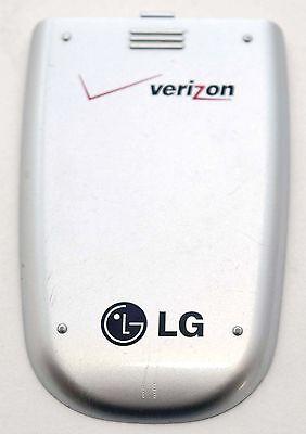 - GENUINE LG VX5300 Verizon BATTERY COVER Door SILVER CDMA flip cell phone back