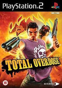 PS2-Total-Overdose-Nuevo-Precintado-Pal-Espana