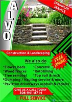 Landscaping Alvo construction (306)9418714